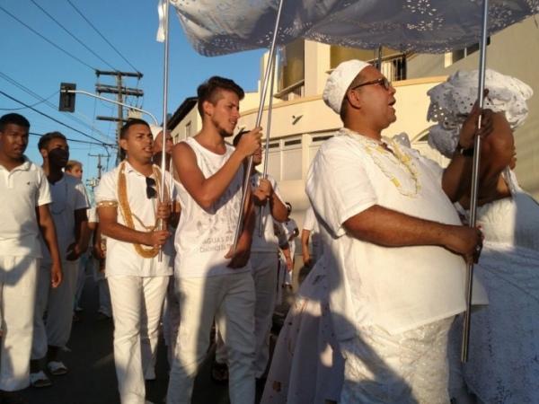 Cortejo antecede tradicional evento da Lavagem do Bonfim FOTO: JOBISON BARROS
