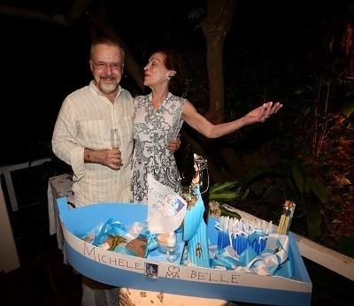 Ricardo Cravo Albin e Michèle Sursock Corrêa da Costa | Marcos Ramos