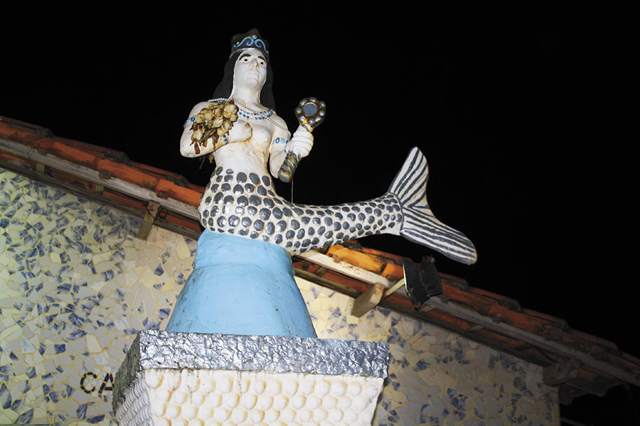 The Yemanja goddess, one of the Candomblé orixas, worshipped as the queen of the salty waters (Image: Sachin Bhandary)