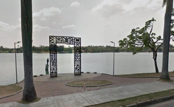 Corpo é encontrado em frente à estátua de Iemanjá na lagoa da Pampulha