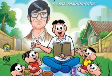 Livro da Turma da Mônica sobre os ensinamentos de Chico Xavier será lançado em SP