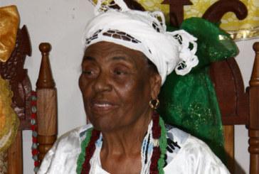 Morre Mãe Aíce de Oxóssi, coordenadora da parte religiosa da festa de Iemanjá