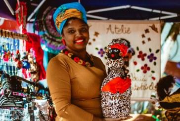 Com bonecas negras e culinária africana, feira afro é inaugurada na zonanorte