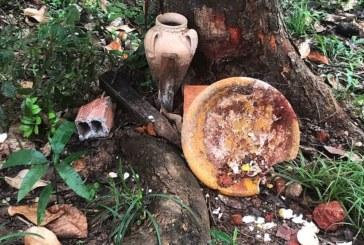Polícia investiga vandalismo em terreiro de candomblé em Lauro de Freitas
