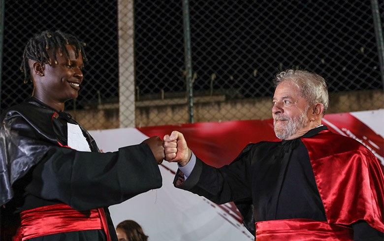 Para Lula, racismo é doença e dívida com povo africano é impagável