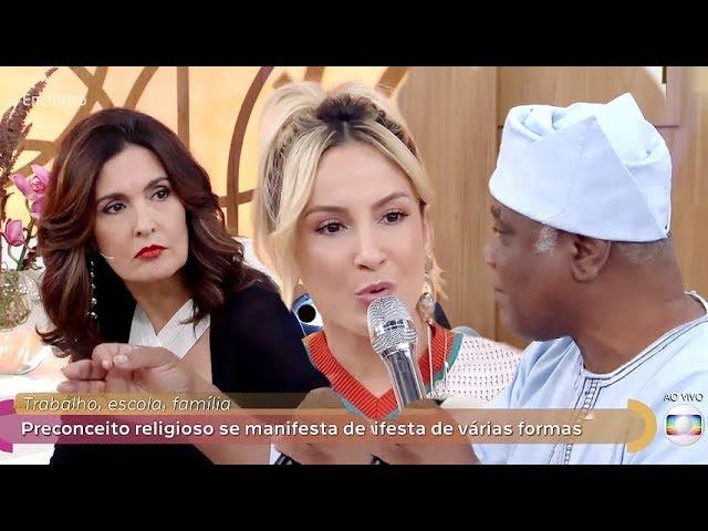 """""""Jesus é o caminho, a verdade e a vida"""", afirma Claudia Leitte em programa da Globo"""
