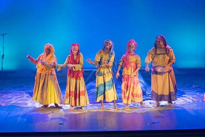 Espetáculo que estreia em setembro no Teatro Glaucio Gill conta a história dos orixás das águas para as crianças