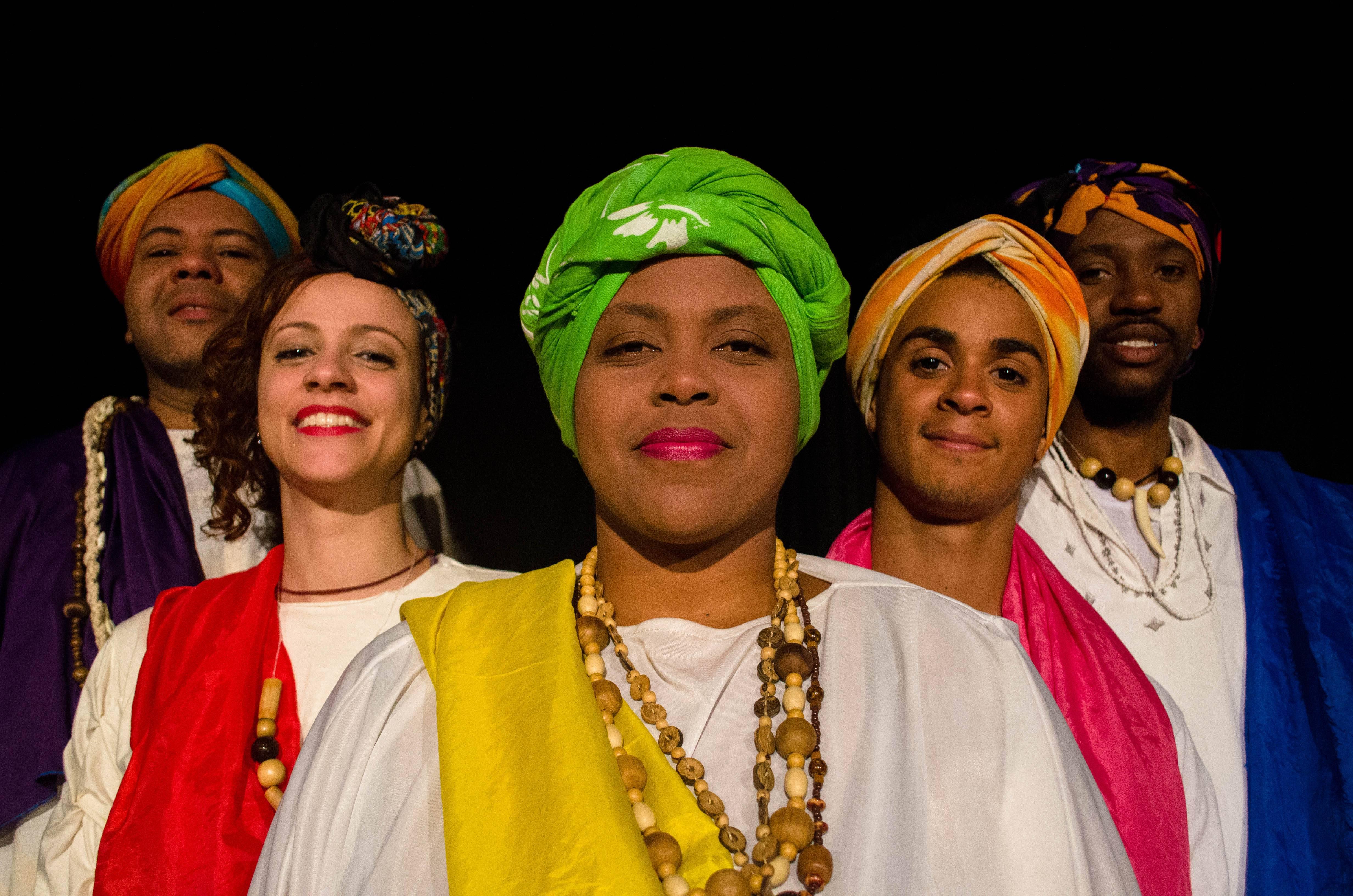 Peça apresenta mitos e lendas africanas para crianças