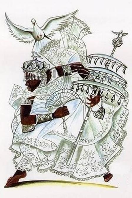 Òṣàlúfọ́n comanda o astral da semana