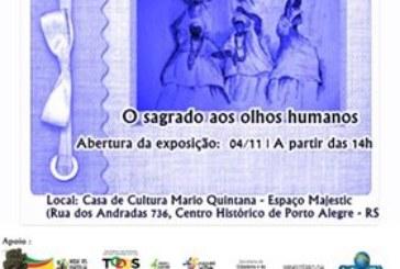 Casa de Cultura recebe de 4 a 30 de novembro exposição com indumentárias de orixás