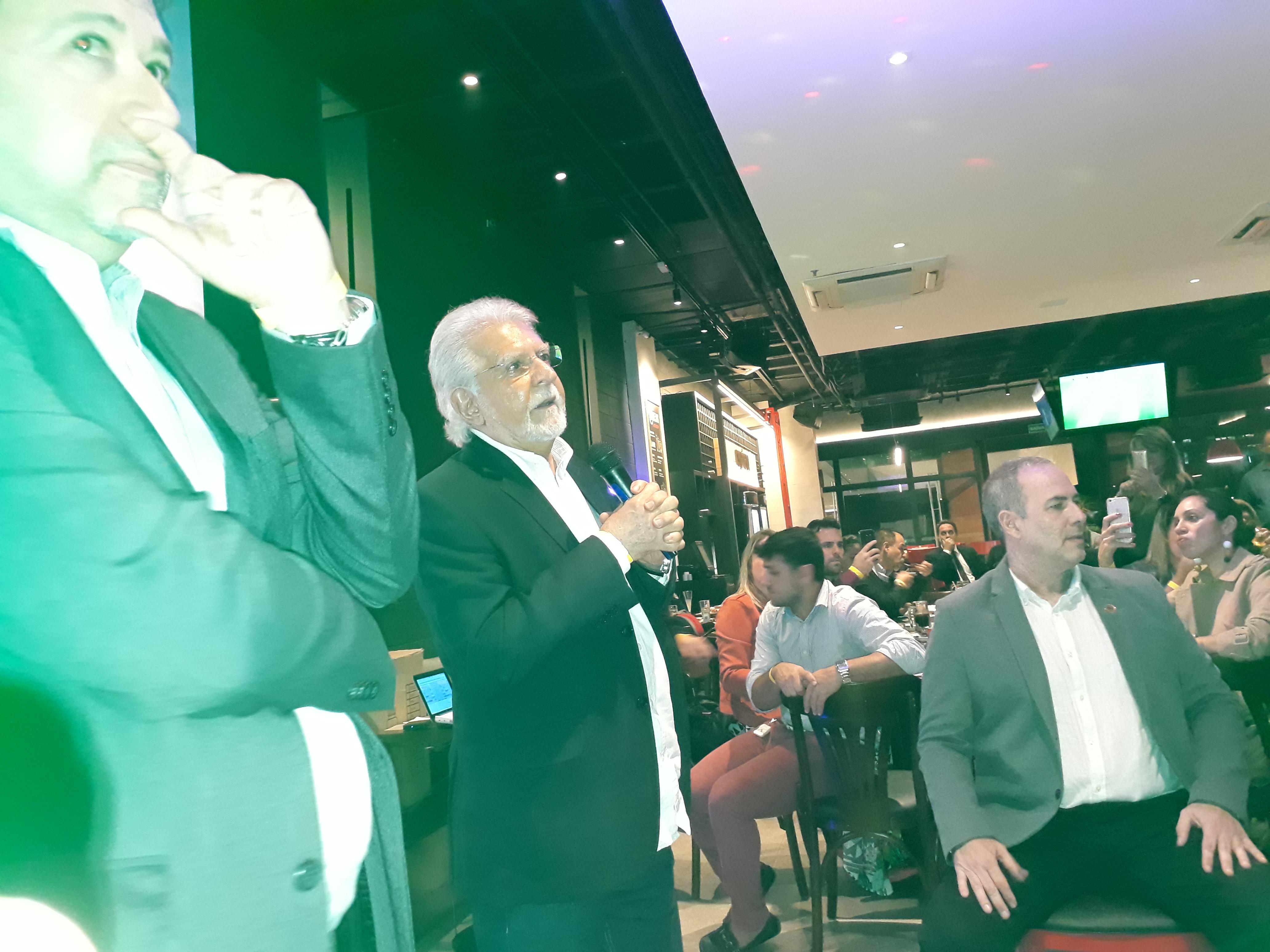 ANMA participa de evento promovido pela AIB com palestra de Domingos Meirelles