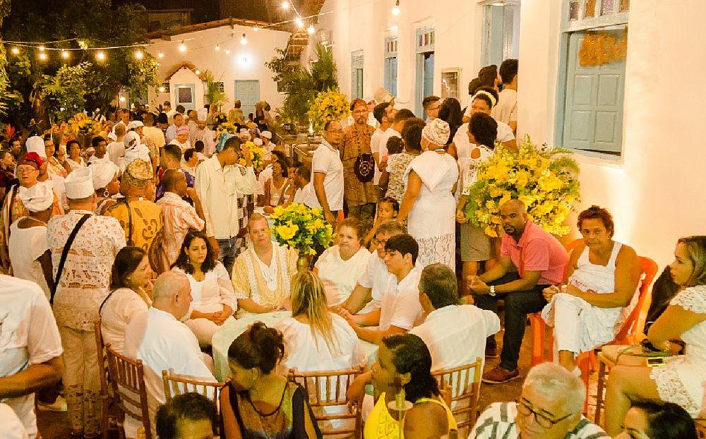 Festa, amor e devoção no Terreiro de Oxumaré, na Federação