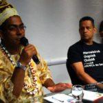 Culinária e o sagrado em seminário sobre comida de matriz africana