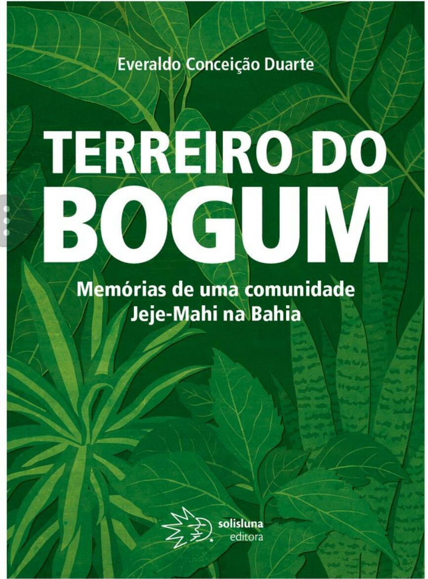 LIVRO: TERREIRO DO BOGUM